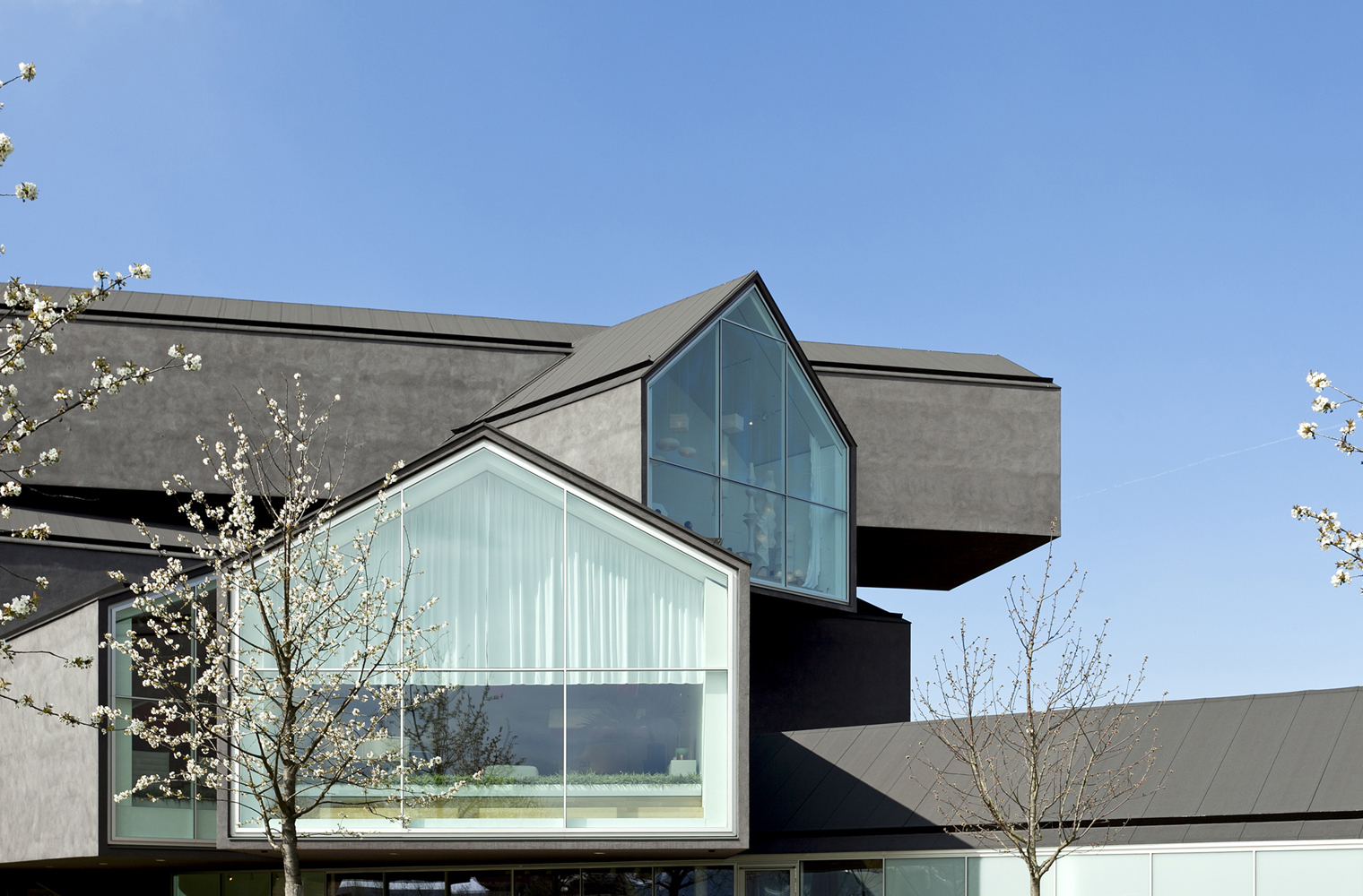 Vitra House Campus on Exterior House Design